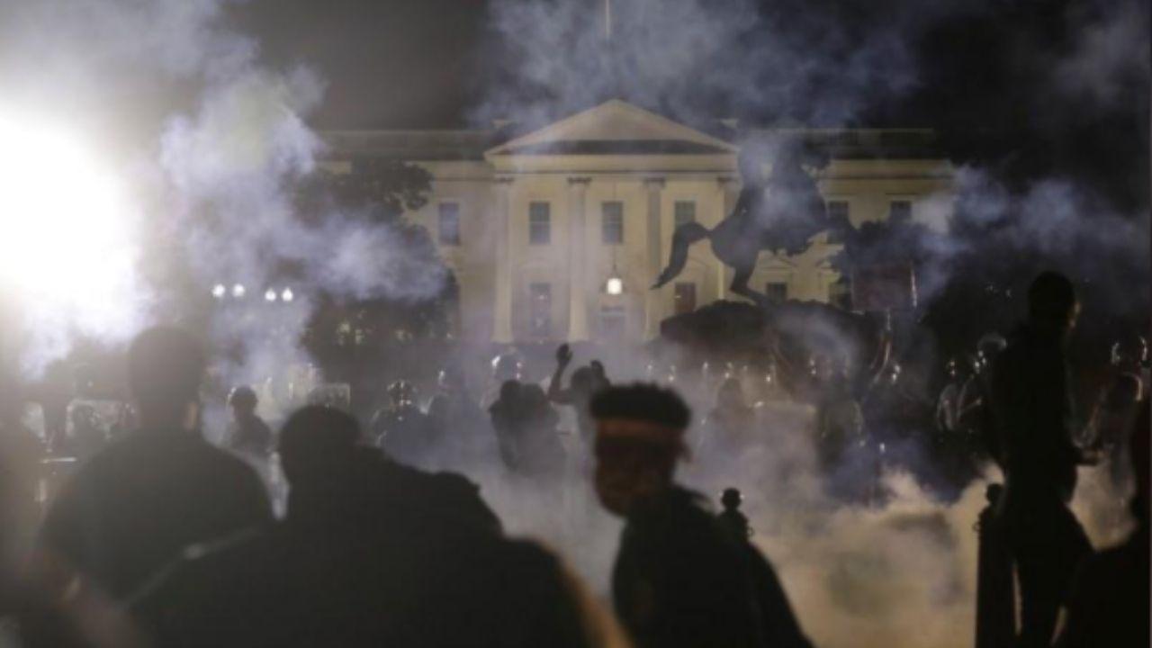 Casa Blanca apagada