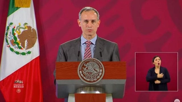 Hugo López Gatell coronavirus
