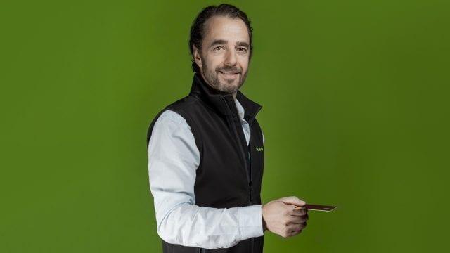 Gerardo Bonilla, cacao paycard