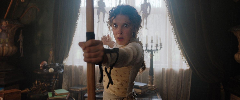 Netflix comparte las imágenes de Millie Bobby Brown como 'Enola Holmes'
