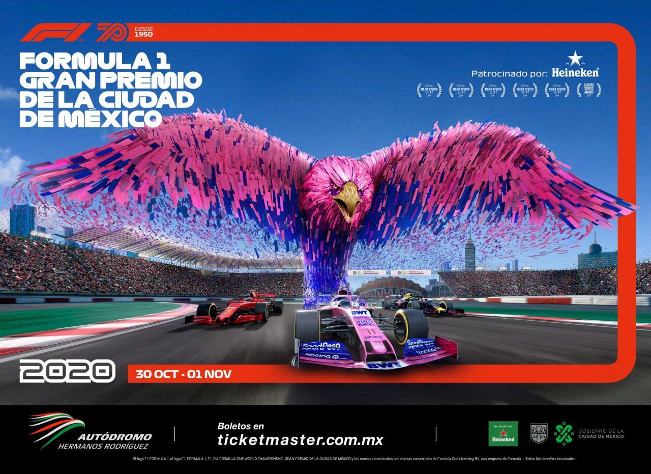 GP de la Ciudad de México, sin cambios en su edición 2020