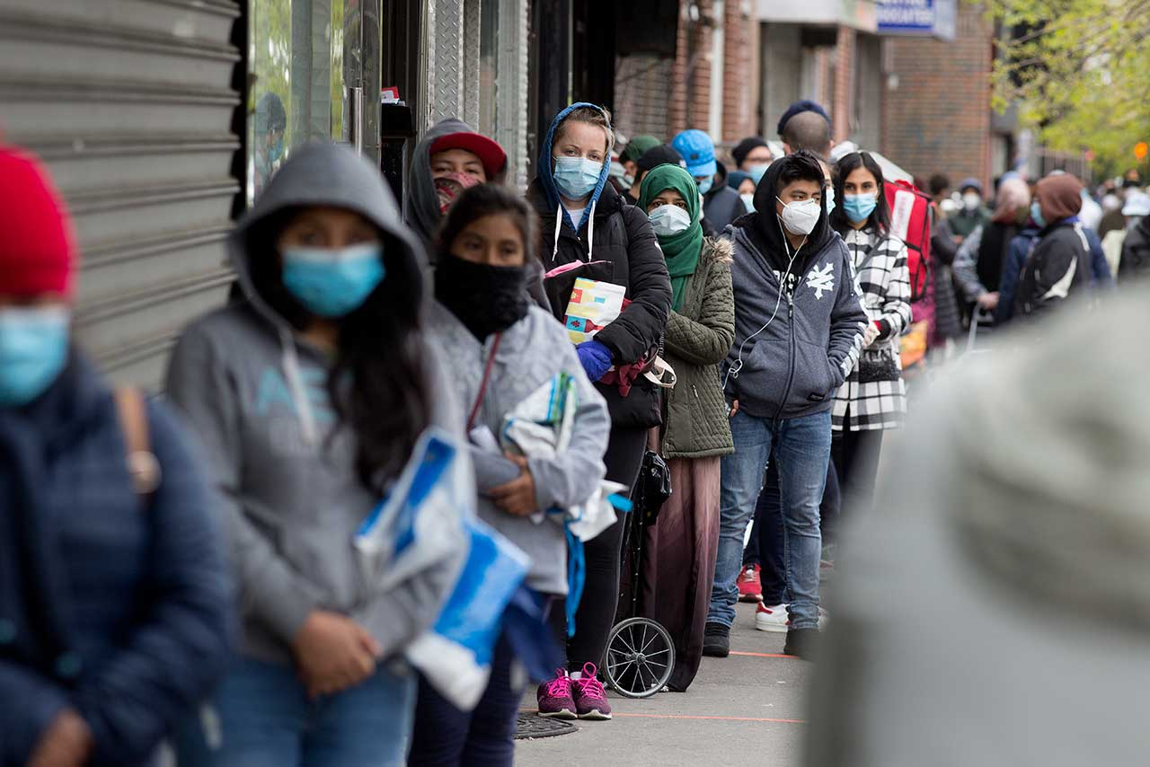 Fotogalería | El desempleo, la otra pandemia que azota al mundo