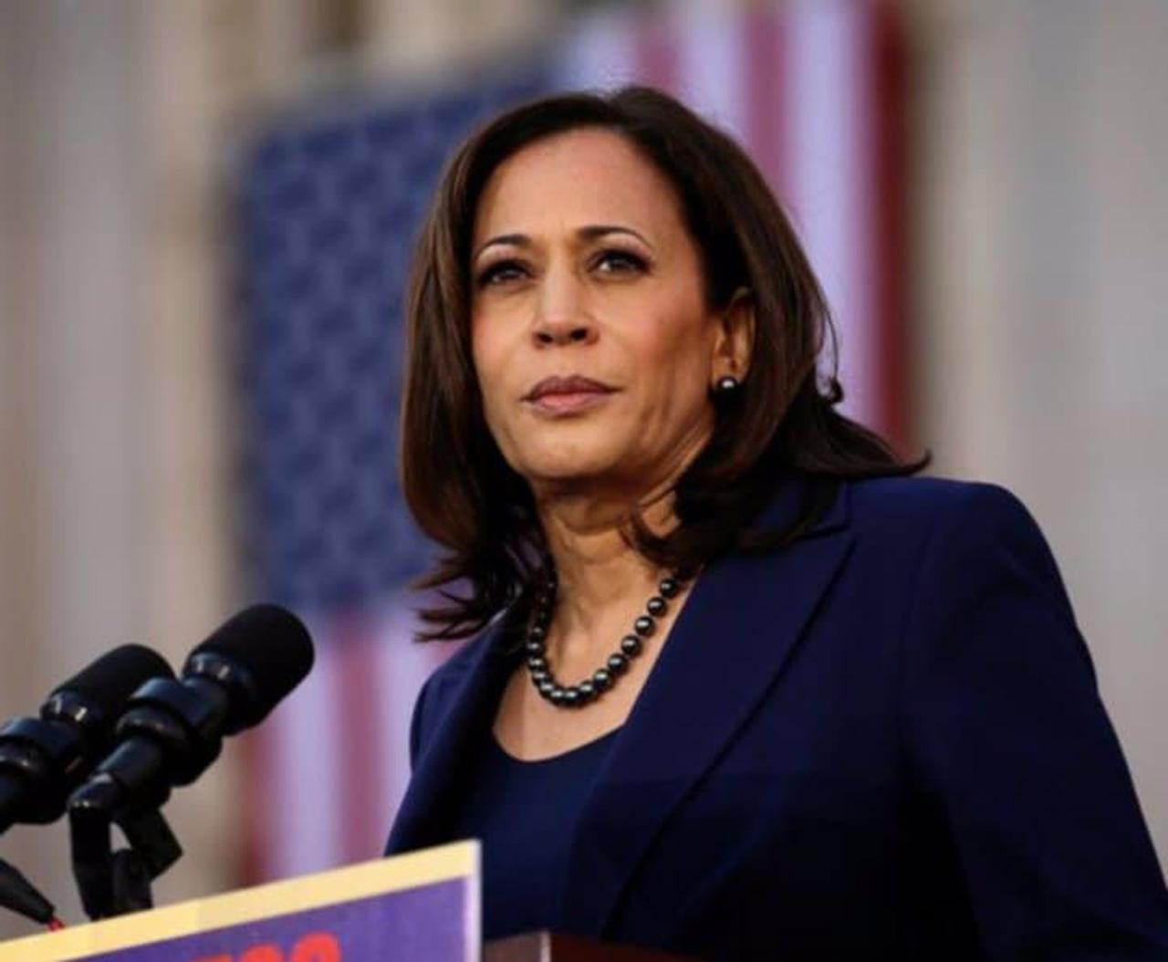 Ella es Kamala Harris, la senadora candidata a vicepresidenta de Joe Biden en EU