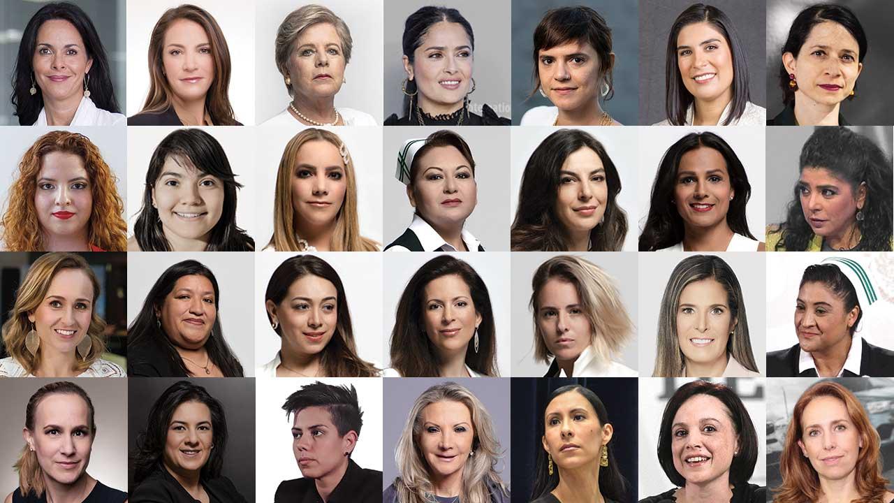Editorial: Las 100 Mujeres más Poderosas de México, 100 ejemplos para ser mejores