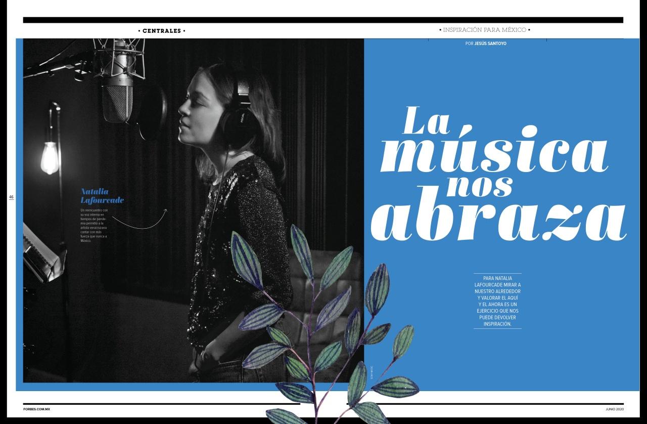 Inspiración para México Natalia Lafourcade