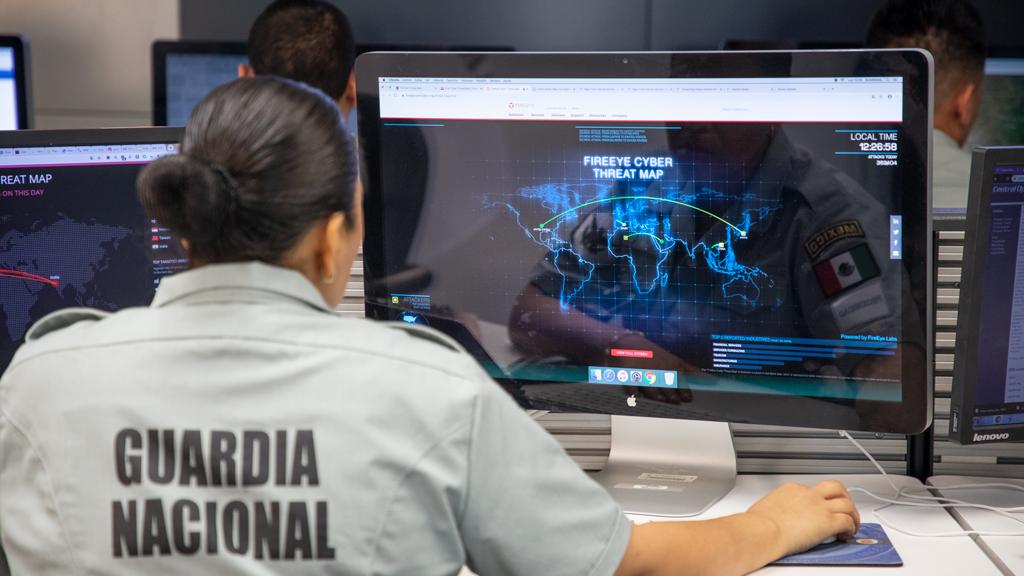 Así es como la Guardia Nacional lucha contra la delincuencia en internet