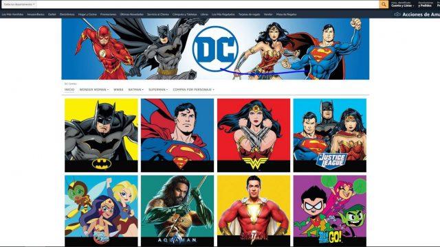 Amazon DC Comics