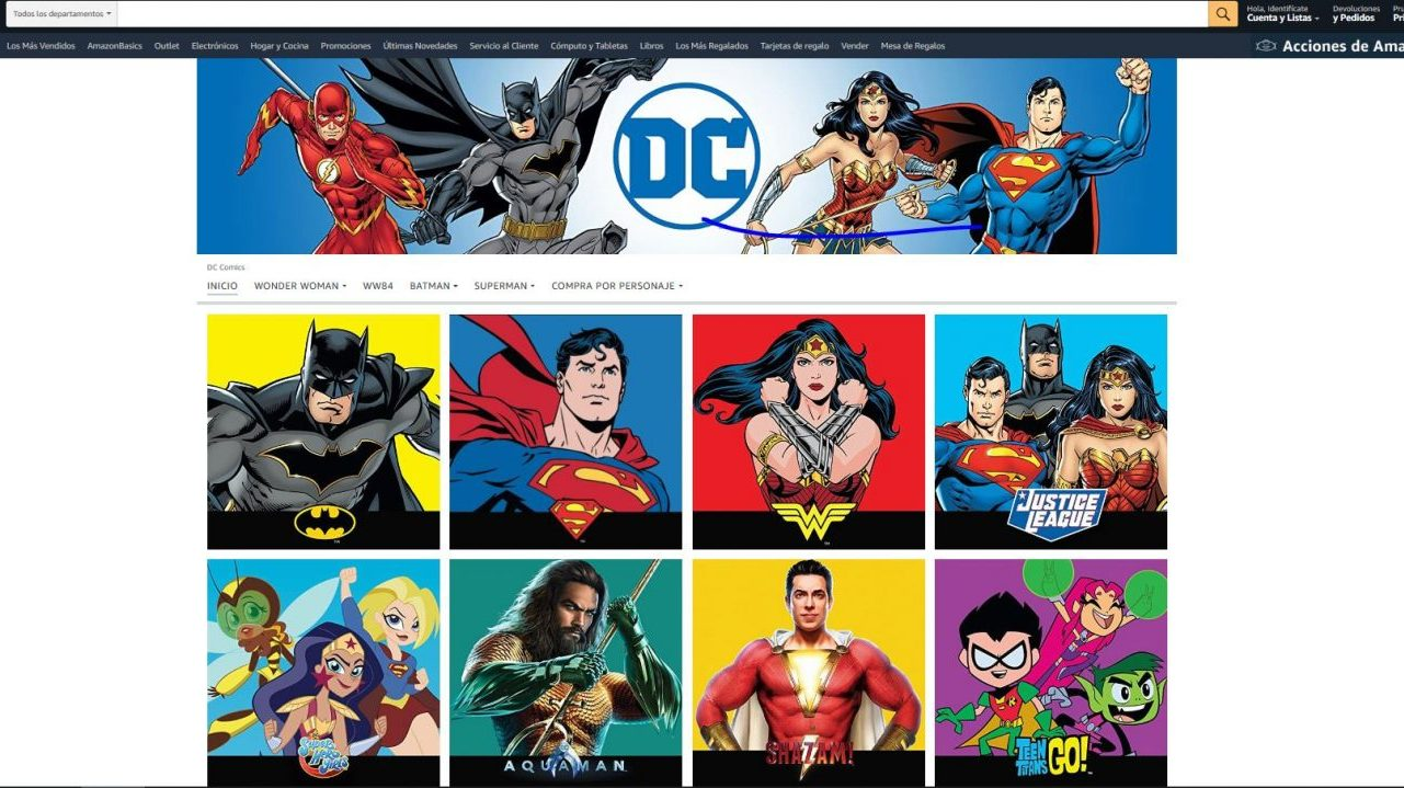 Amazon DC Comics