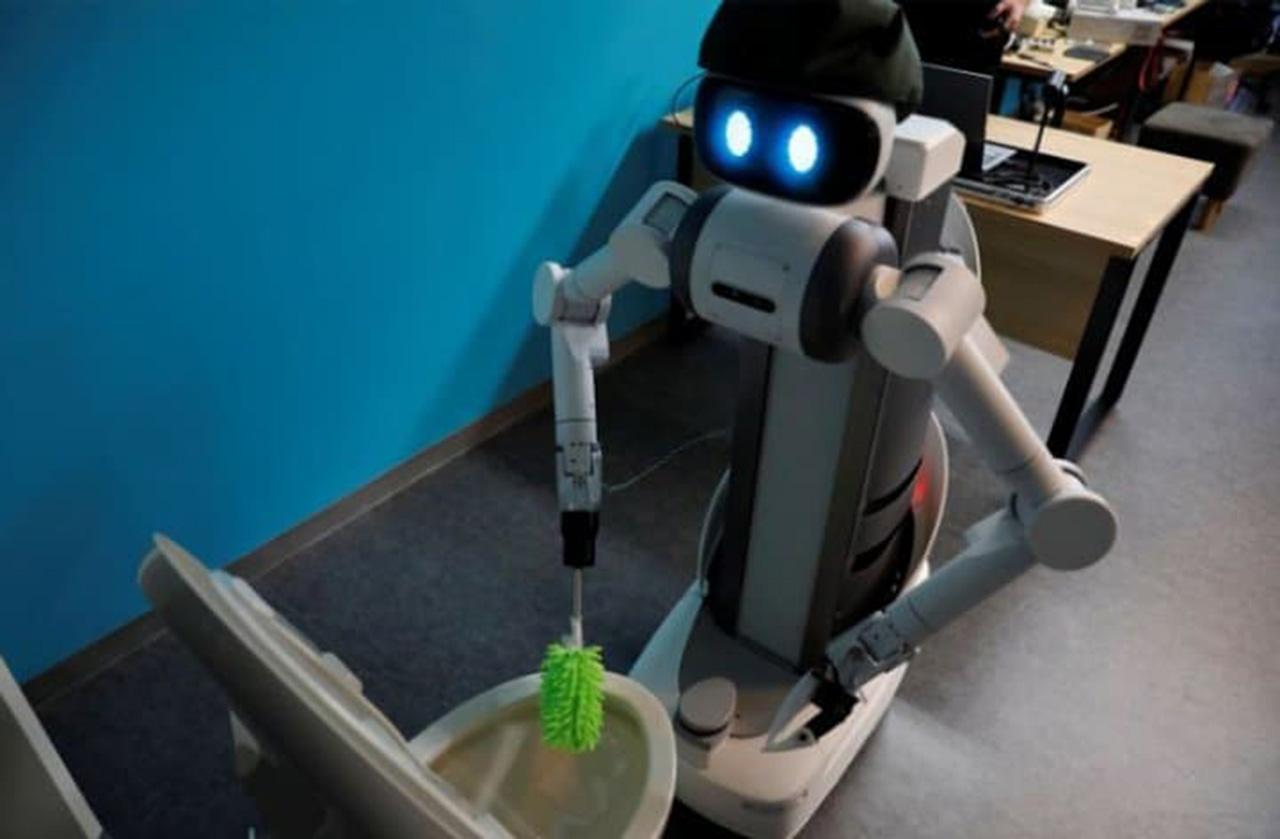 'Ugo', el robot trabajador que quiere aprovechar la pandemia para hallar empleo