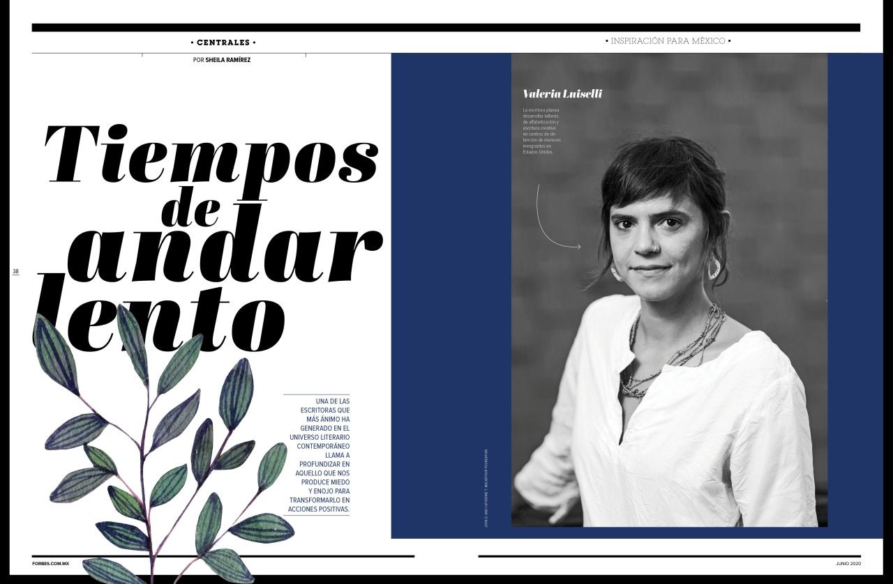 Inspiración para México Valeria Luiselli