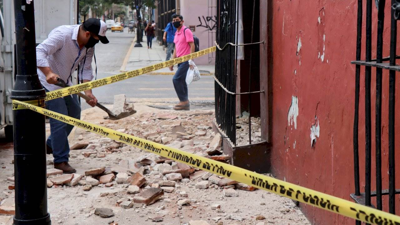 Sismo de Oaxaca movió 45 cm el terreno, según la NASA