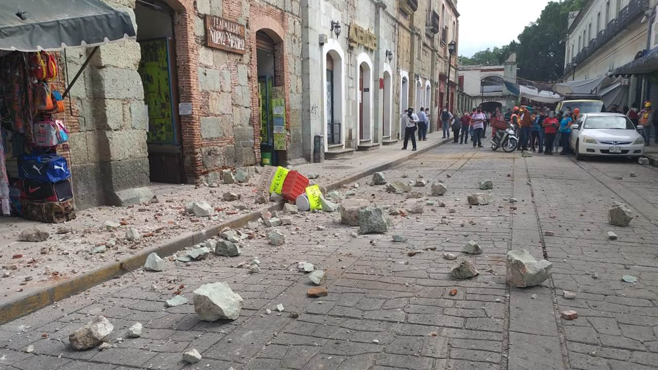 Oaxaca, estado vulnerable en jaque por el sismo y la pandemia
