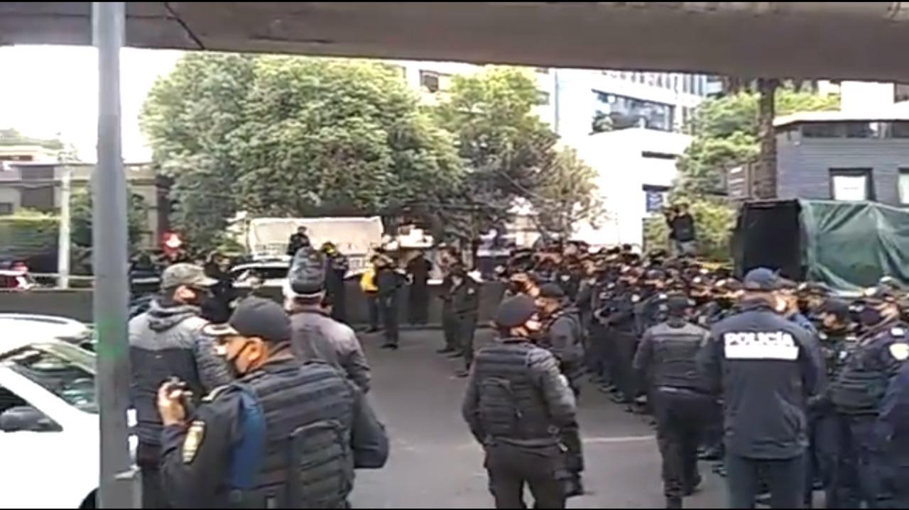 Policías de la CDMX piden no ser criminalizados y amenazan con plantón