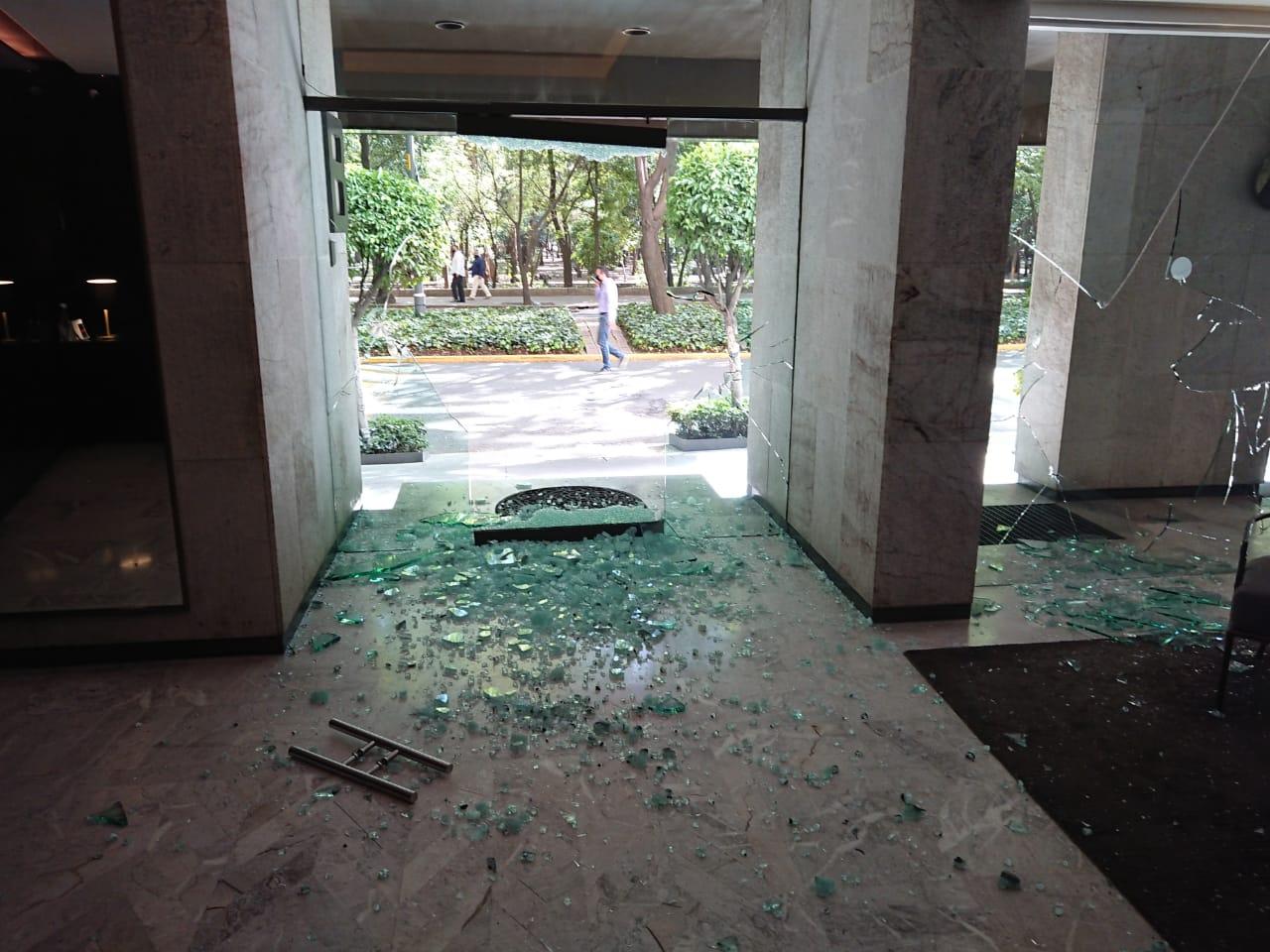 La desestabilización que buscan los grupos que vandalizaron Polanco