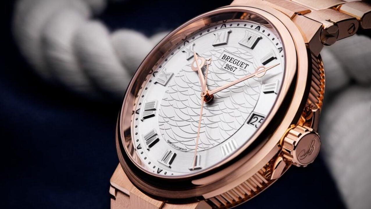 Breguet devela colección de relojes que evocan la profundidad del mar