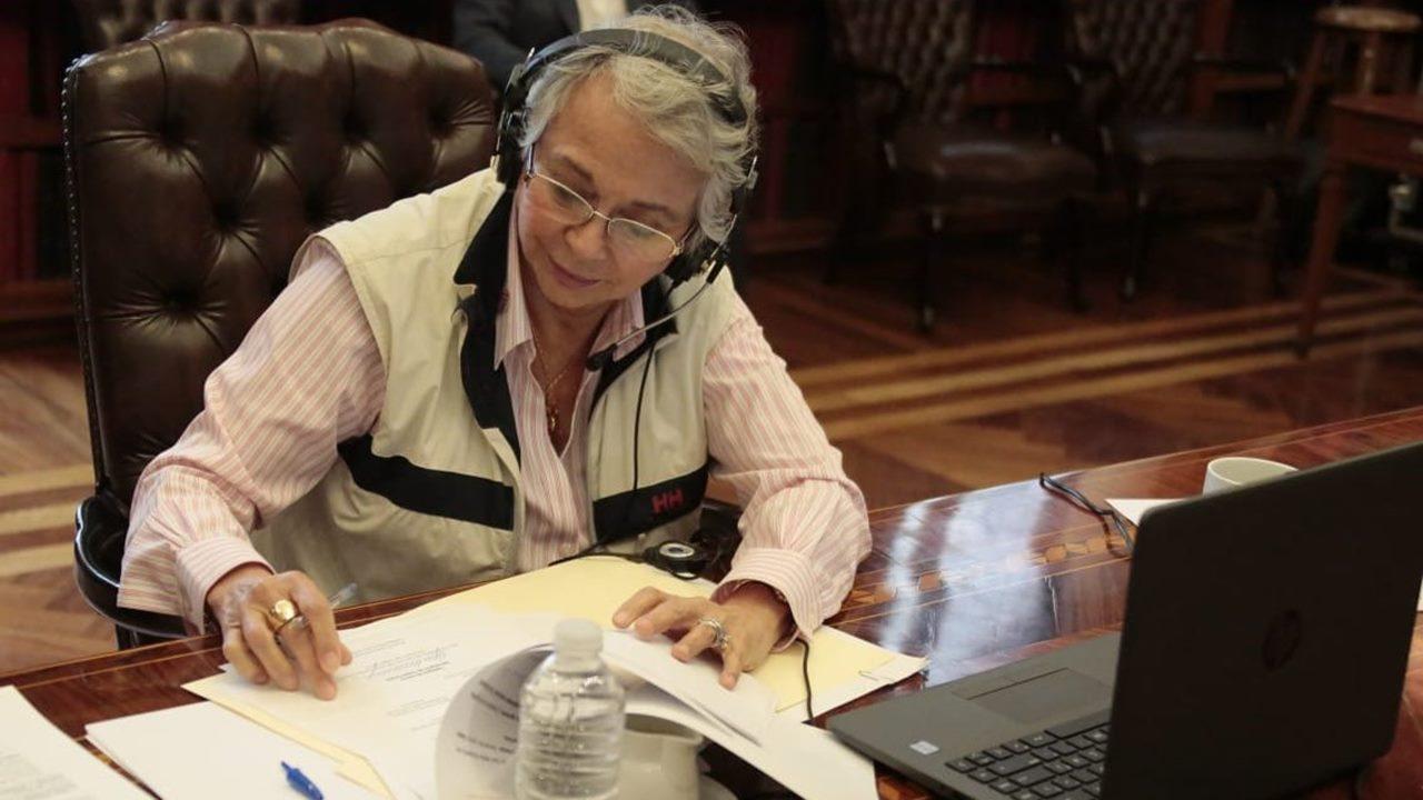 Hay misoginia en el gabinete, lamenta Sánchez Cordero