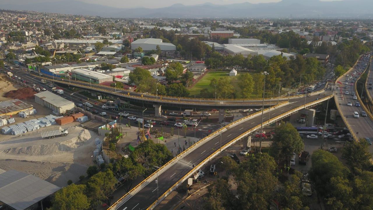 CDMX inaugura puente de Eje 6 y Circuito Interior; busca aliviar tramo de congestionamiento