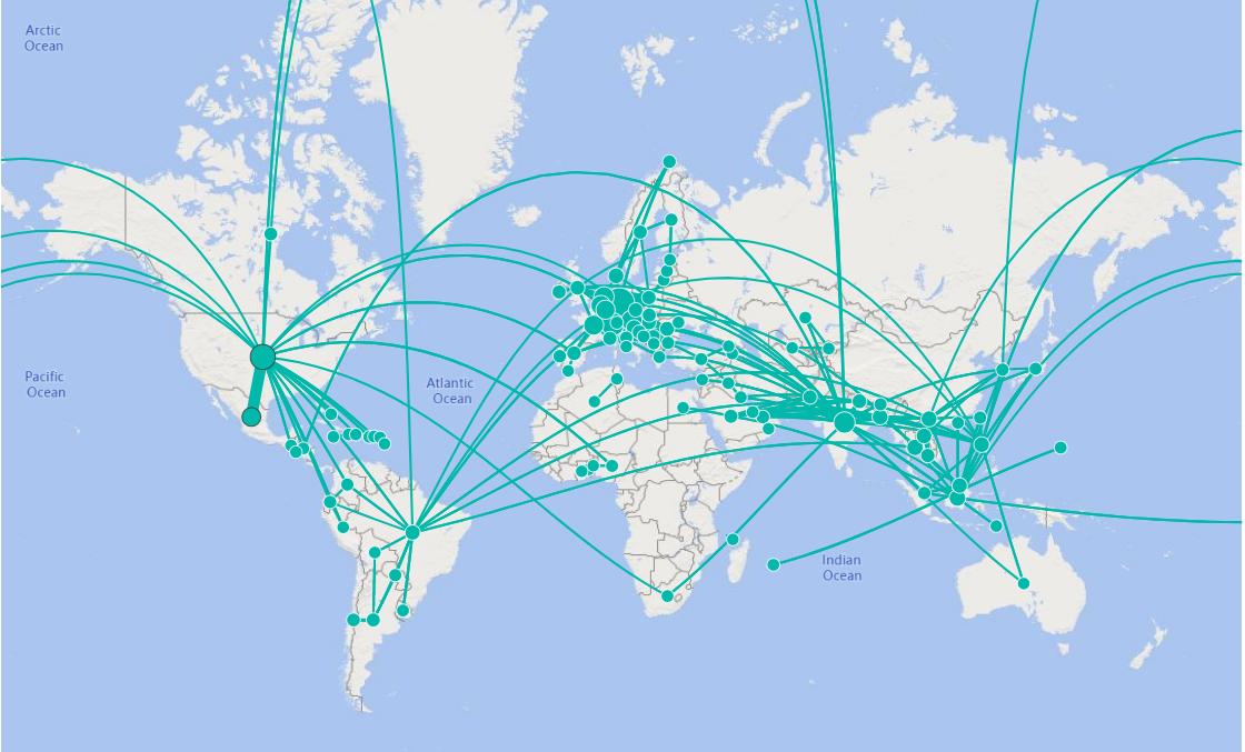 Facebook presenta mapa y tablero interactivo para Covid-19