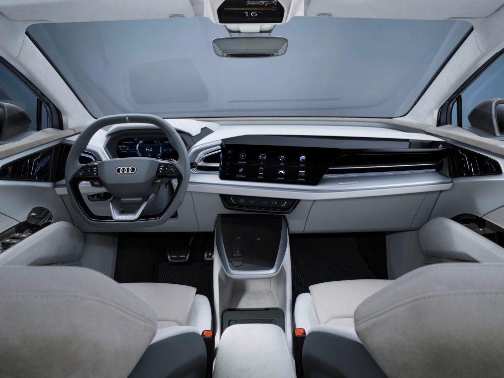 Q4 Sportback e-tron concept auto Audi