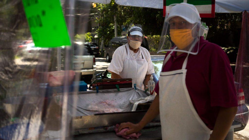 Coronavirus comida Covid-19 alimentos comedor comercio ambulante comercio informal empleo trabajo