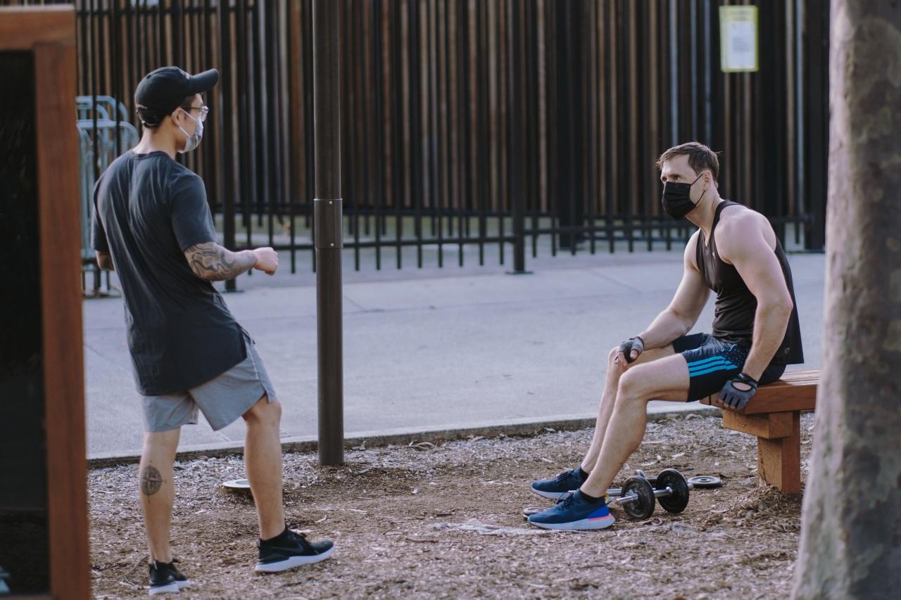 Cubrebocas ejercicio