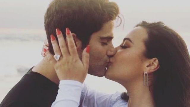 Demi Lovato anillo de compromiso