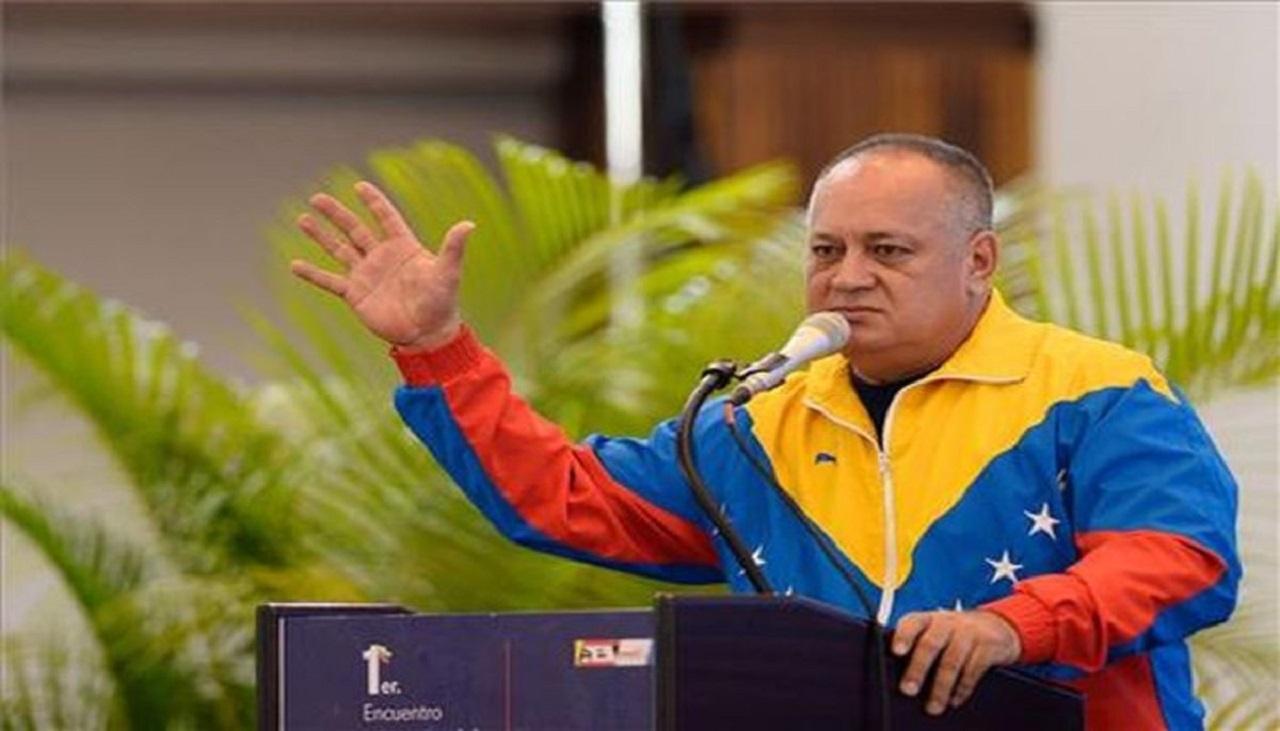 Diosdado Cabello, número dos del oficialismo en Venezuela, da positivo a Covid-19