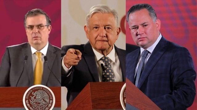 Ebrard AMLO Nieto