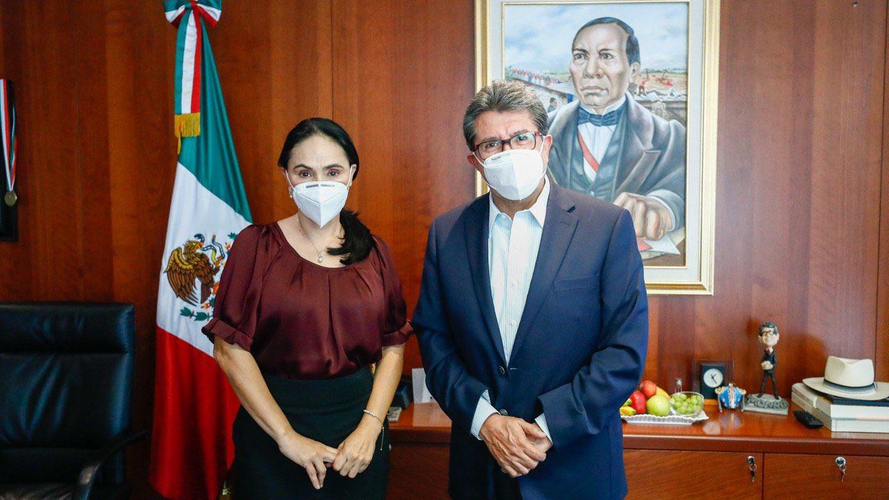 Suplente de Vanessa Rubio se va con Morena en el Senado