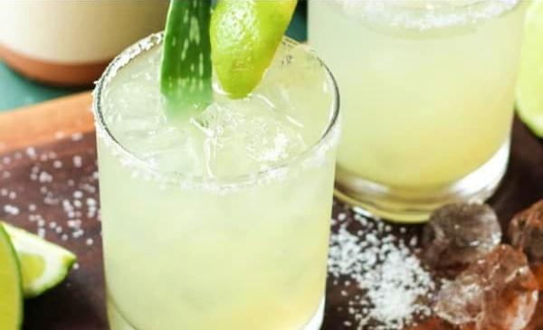 Bebida refrescante de aloe vera