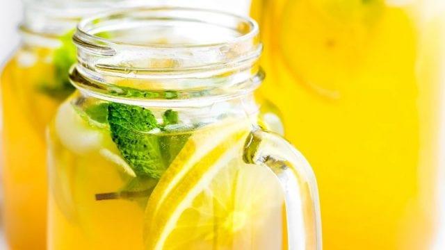 Bebidas saludables verano