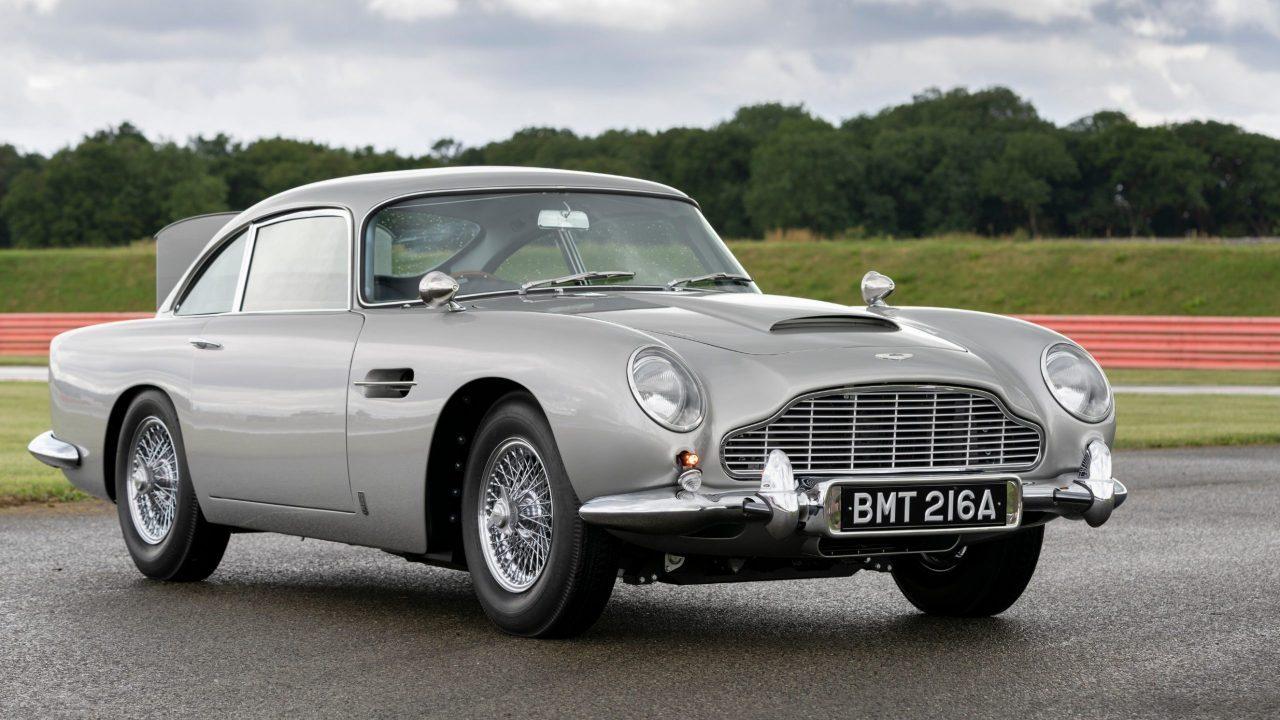 El Aston Martin de James Bond está de regreso para cubrir nuevas misiones