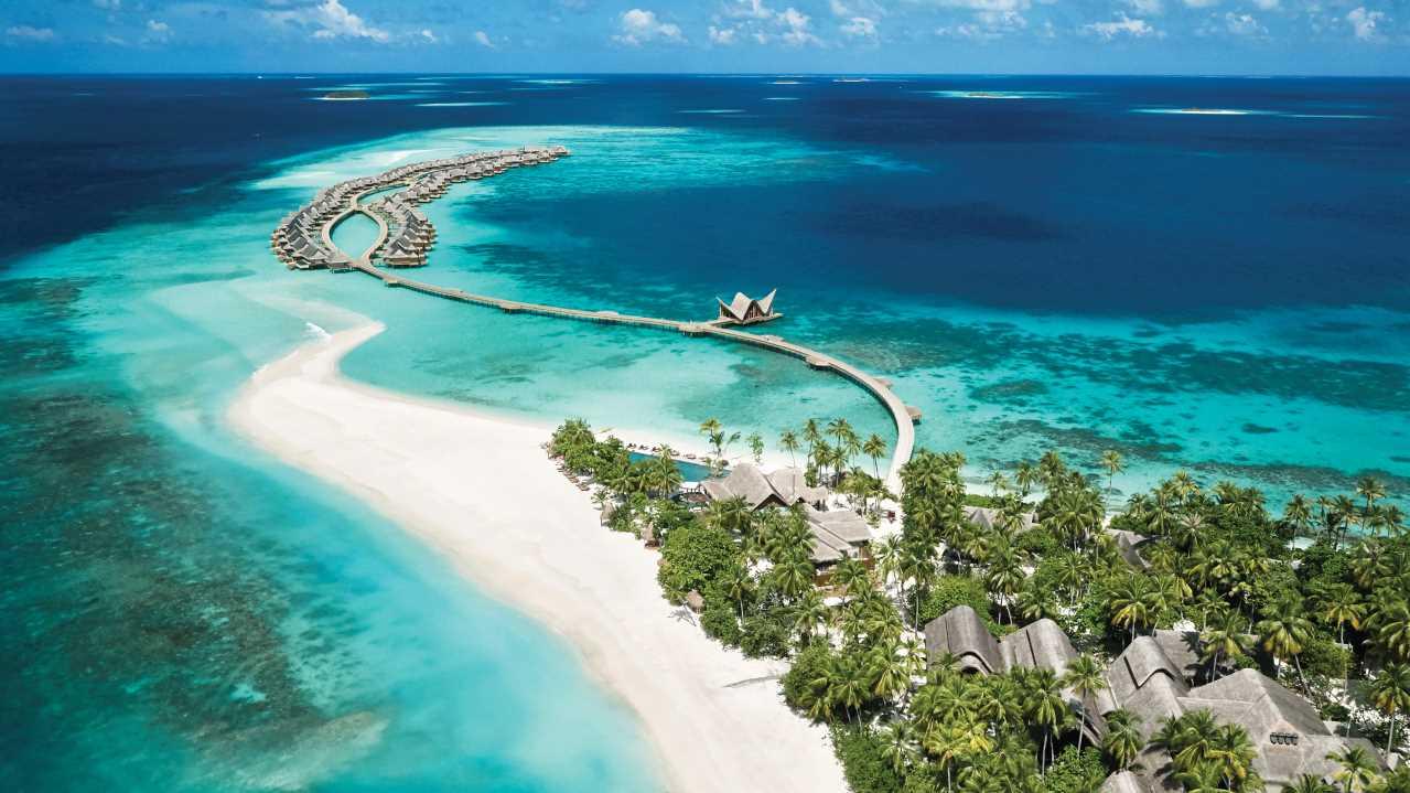 La clave de la alegría interior… Arte y vida en las Maldivas