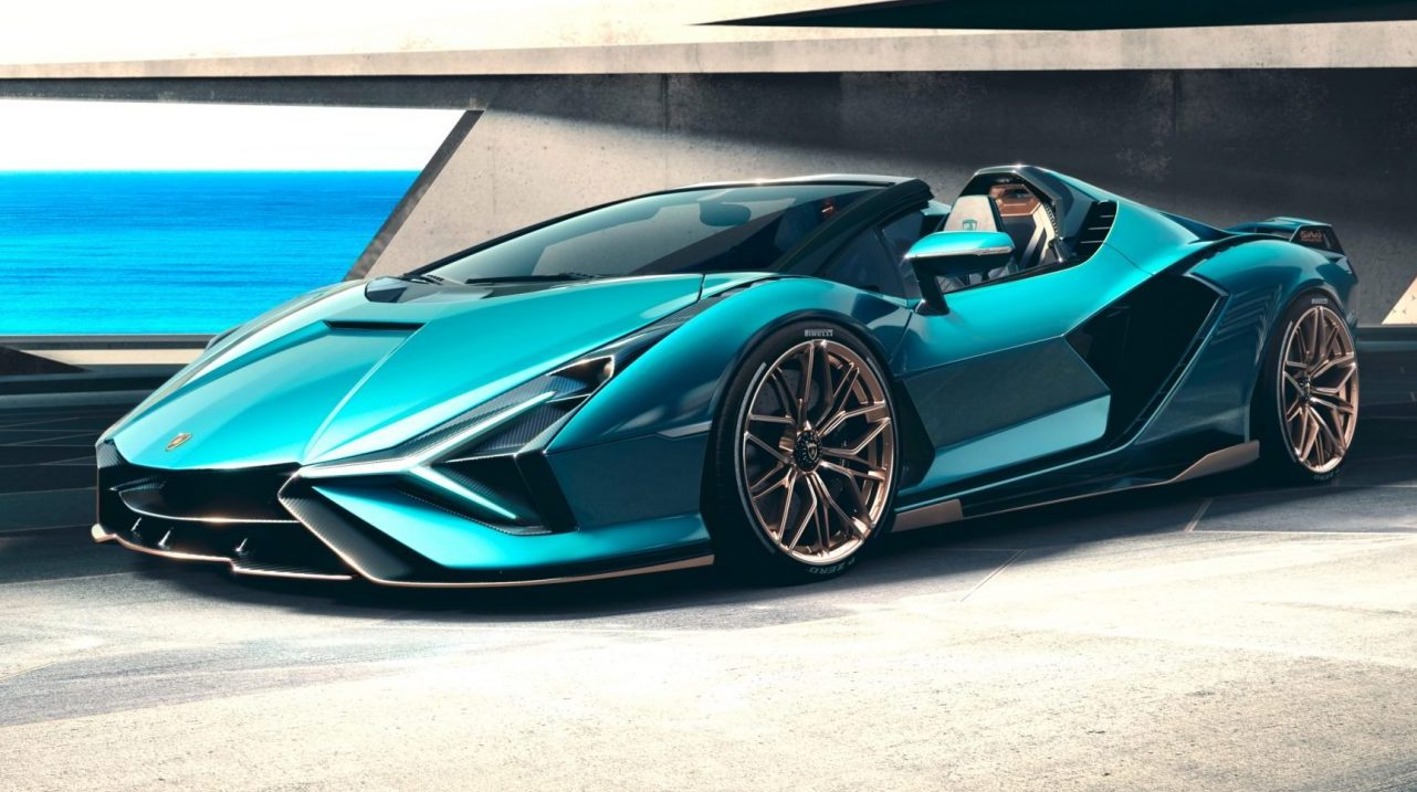 Lamborghini Sián Roadster, el superdeportivo que redefine el auto del futuro