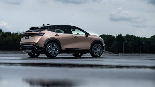 Nissan Ariya auto eléctrico