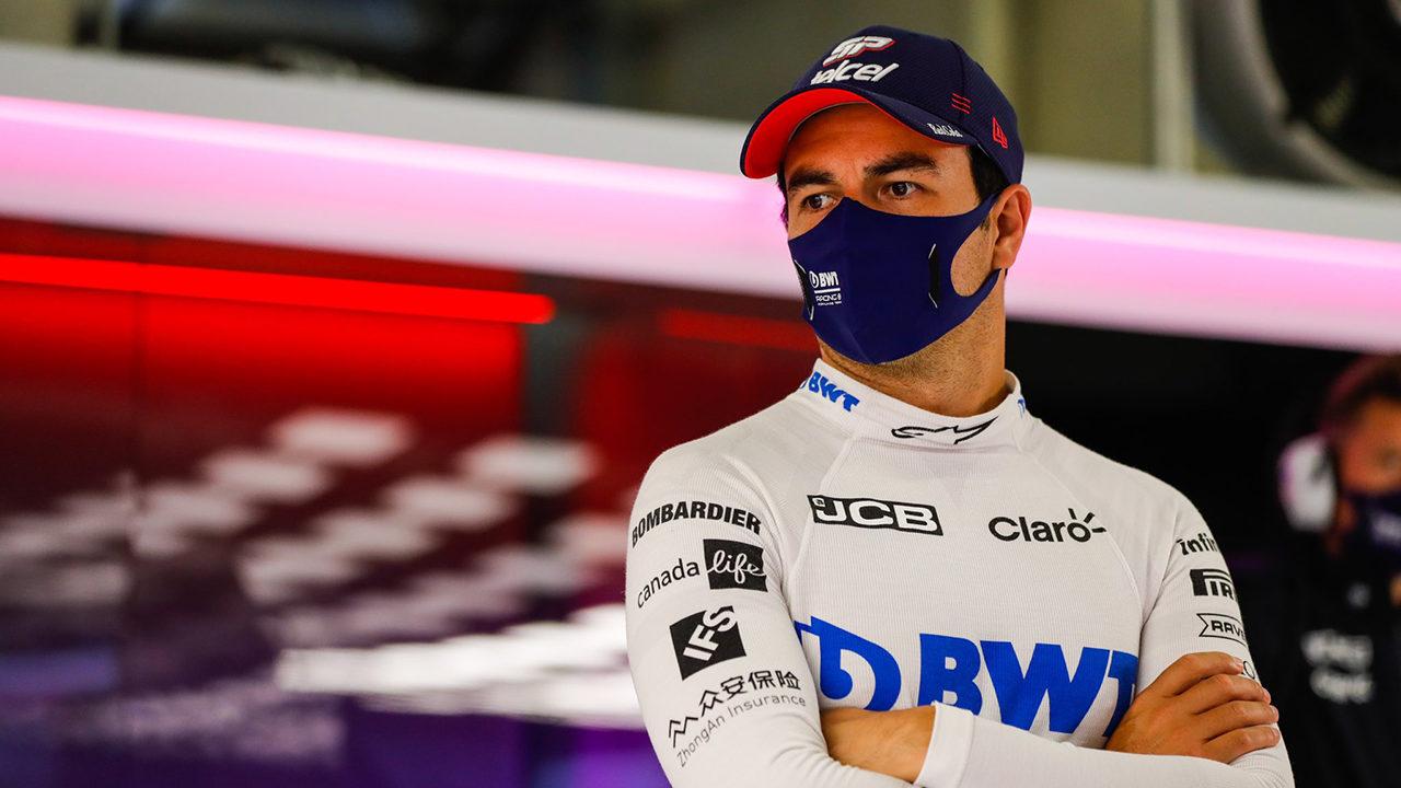 Checo Pérez tiene un mal día en el Gran Premio de Portugal y culmina en el puesto 12 tras las primeras dos prácticas