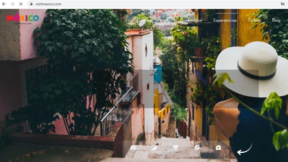 VisitMexico, página de promoción turística, se cae por falta de pago