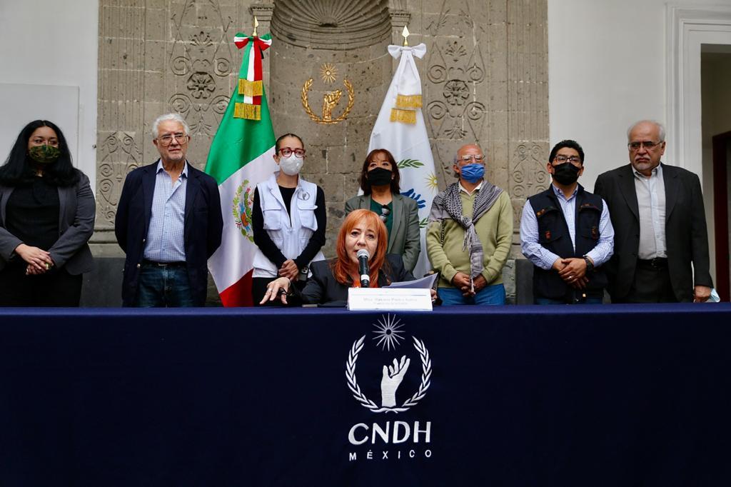 La CNDH quebrada