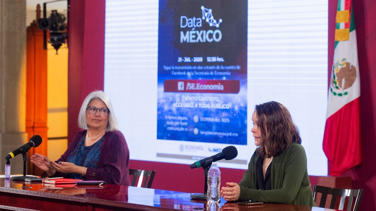 Economía e Inegi crean el portal Data México