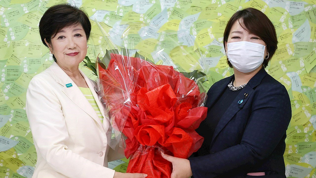Yuriko Koike volverá a gobernar Tokio tras holgada victoria en elecciones