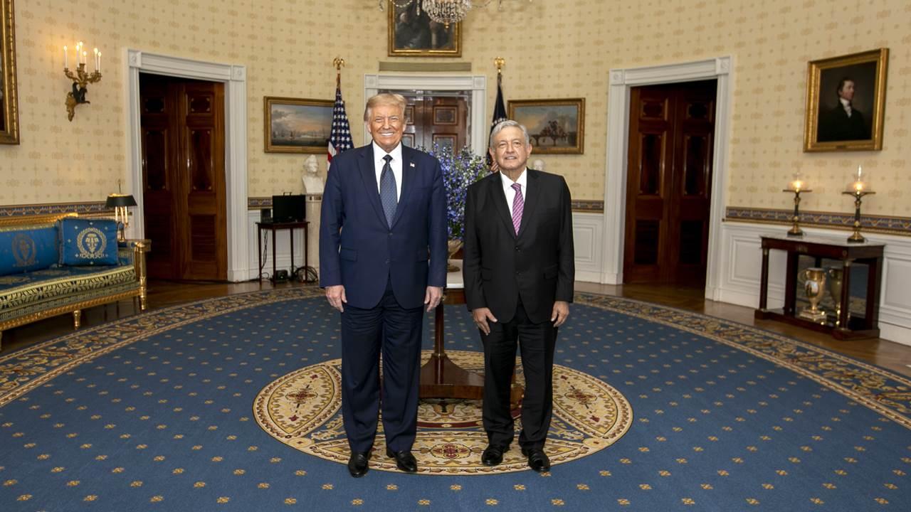 El spot de Trump y López Obrador