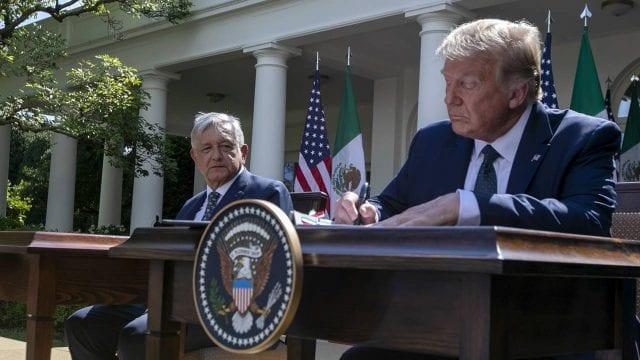 La 4T festeja visita de AMLO a Trump • Forbes Política • Forbes México