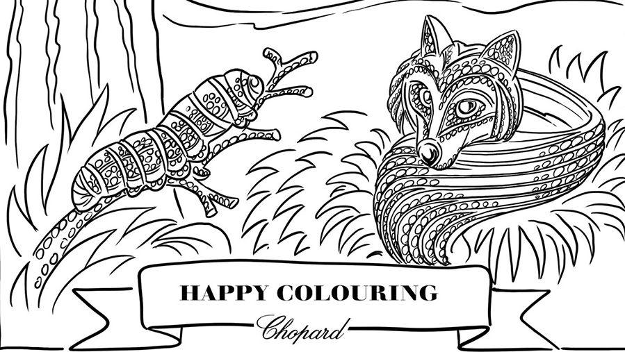 Chopard reta tu creatividad con el Colouring Challenge