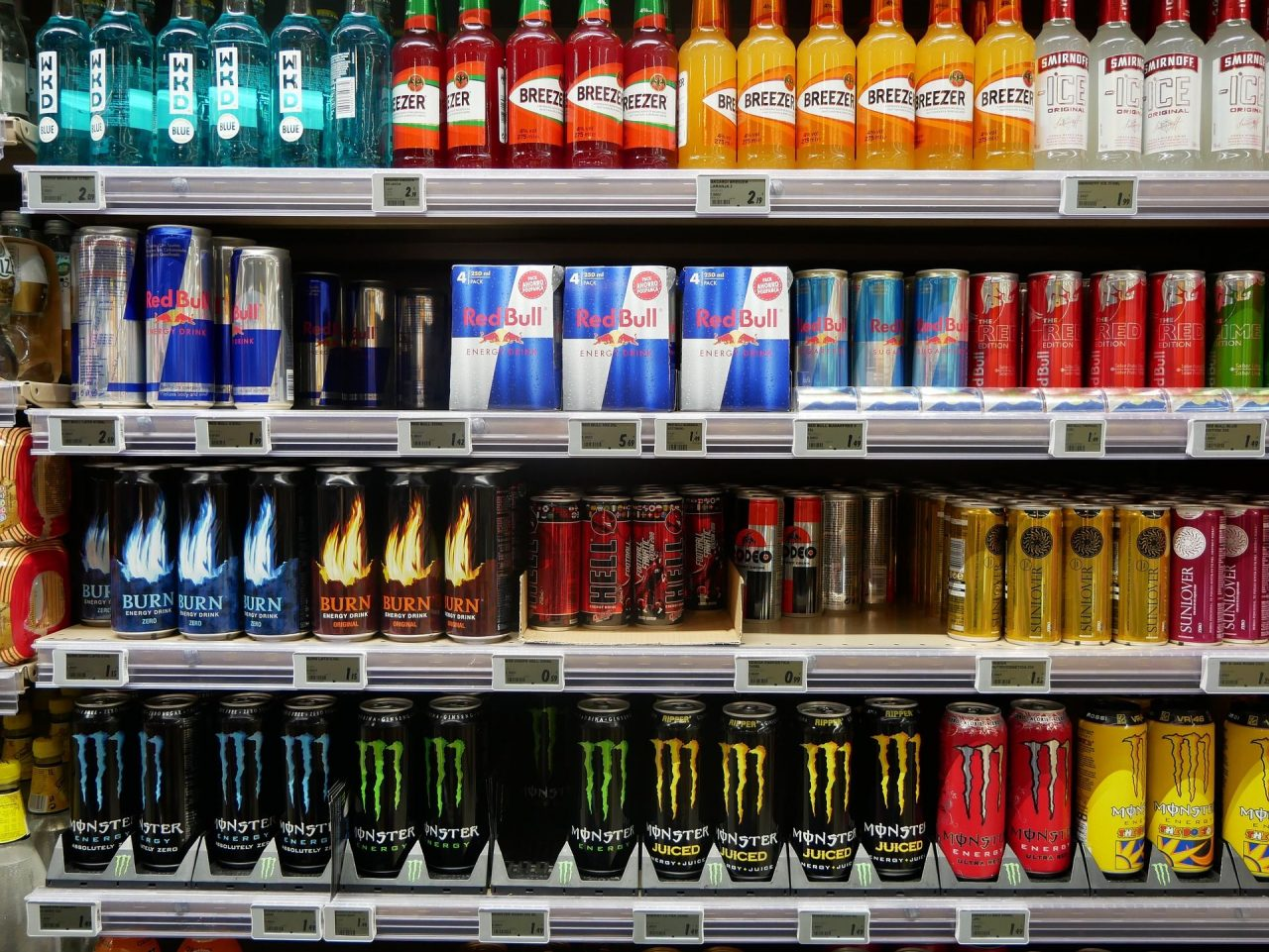 Profeco evidencia a bebidas  con mayor cantidad de azúcar, taurina y cafeína