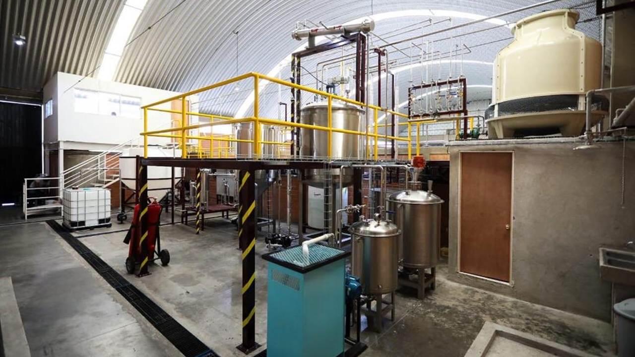 CDMX inaugura planta de biodiésel en Central de Abastos