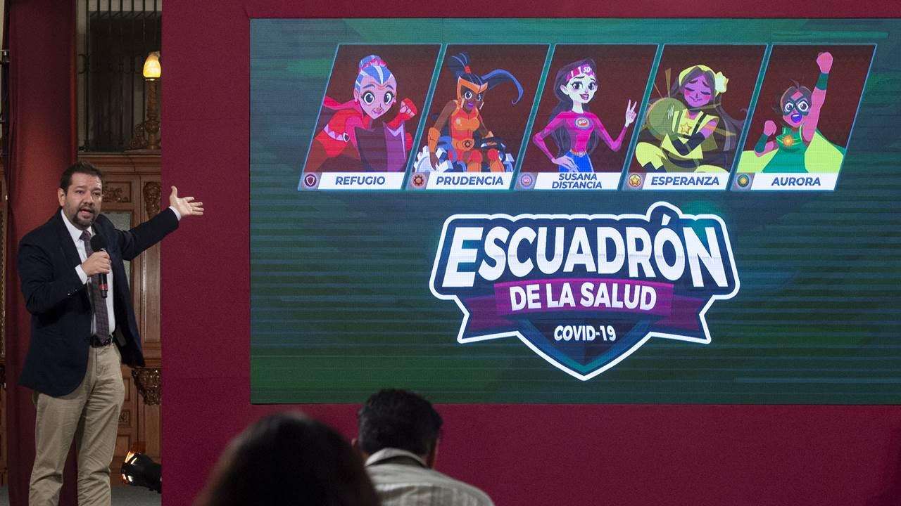 'Escuadrón de la salud': otros personajes de ficción se unen a Susana Distancia