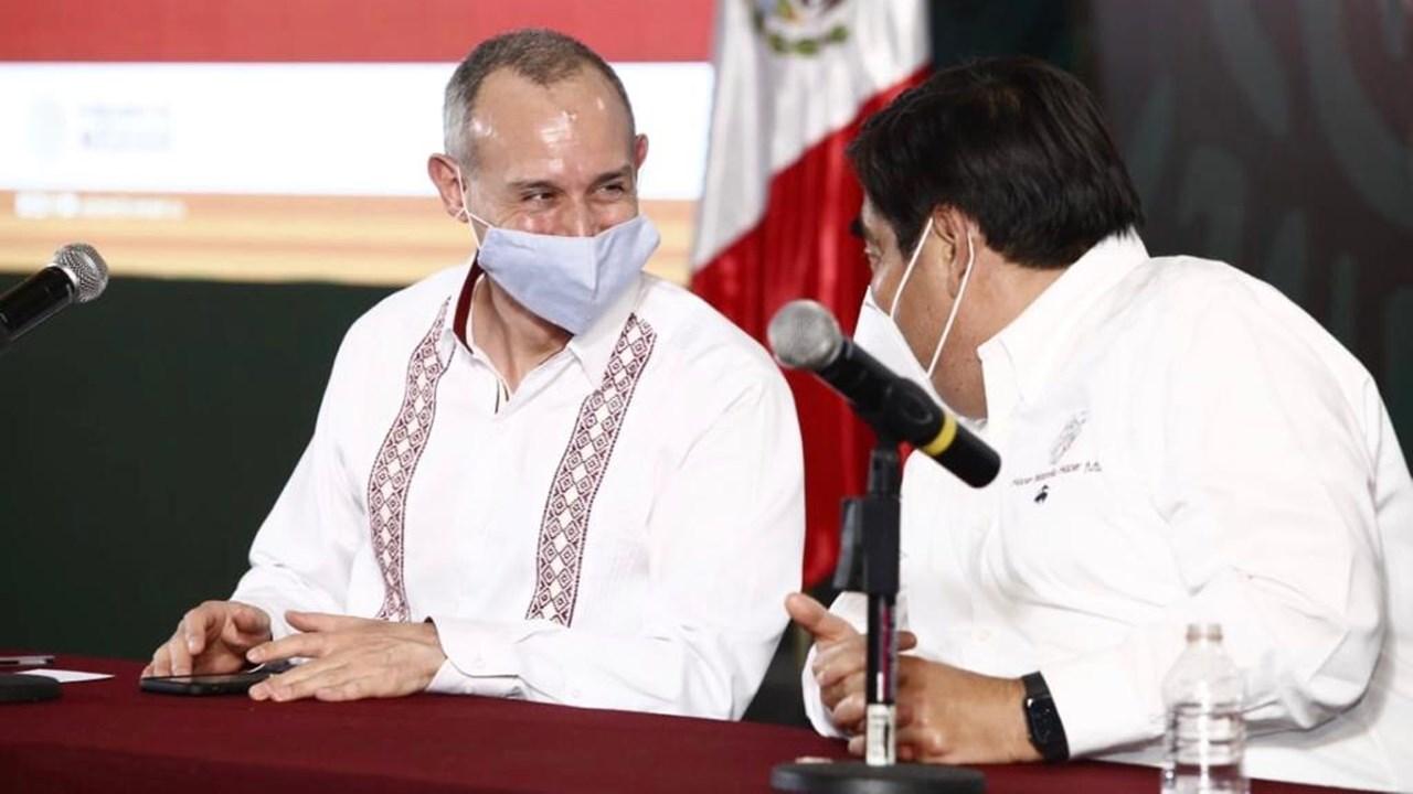 Discrepar no implica pelearse, dice López-Gatell a gobernadores