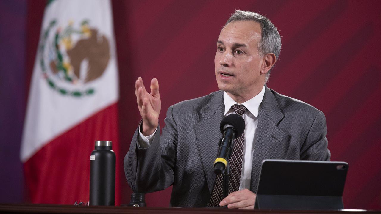 Llevamos 3 semanas con señales de disminución de la pandemia: López Gatell