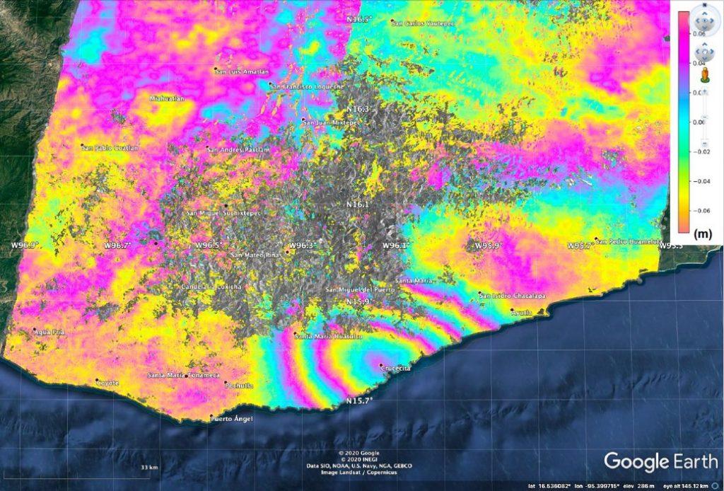 Sismo del 23 de junio desplazó casi medio metro a Oaxaca: NASA