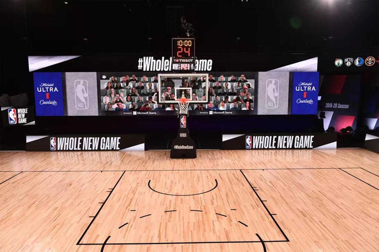Espectadores podrán ver partidos de la NBA por 'Microsoft Teams'